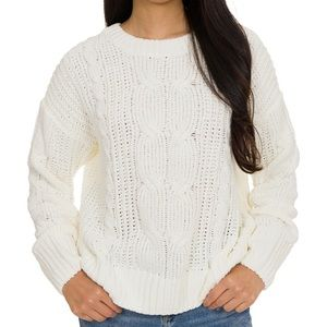 NWT Hippie Rose Juniors Mixed Knit Sweater